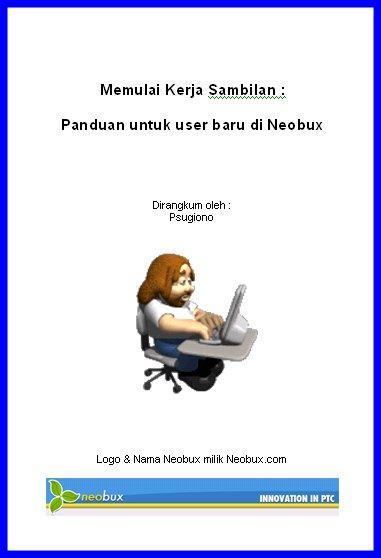 Cara Mendapatkan Uang Gratis Dari Neobux (Tutorial Neobux Dengan Wajah Baru) (2/6)