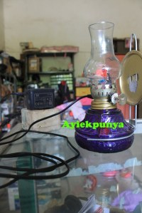 Lampu Emergency Cantik, posisi Charging